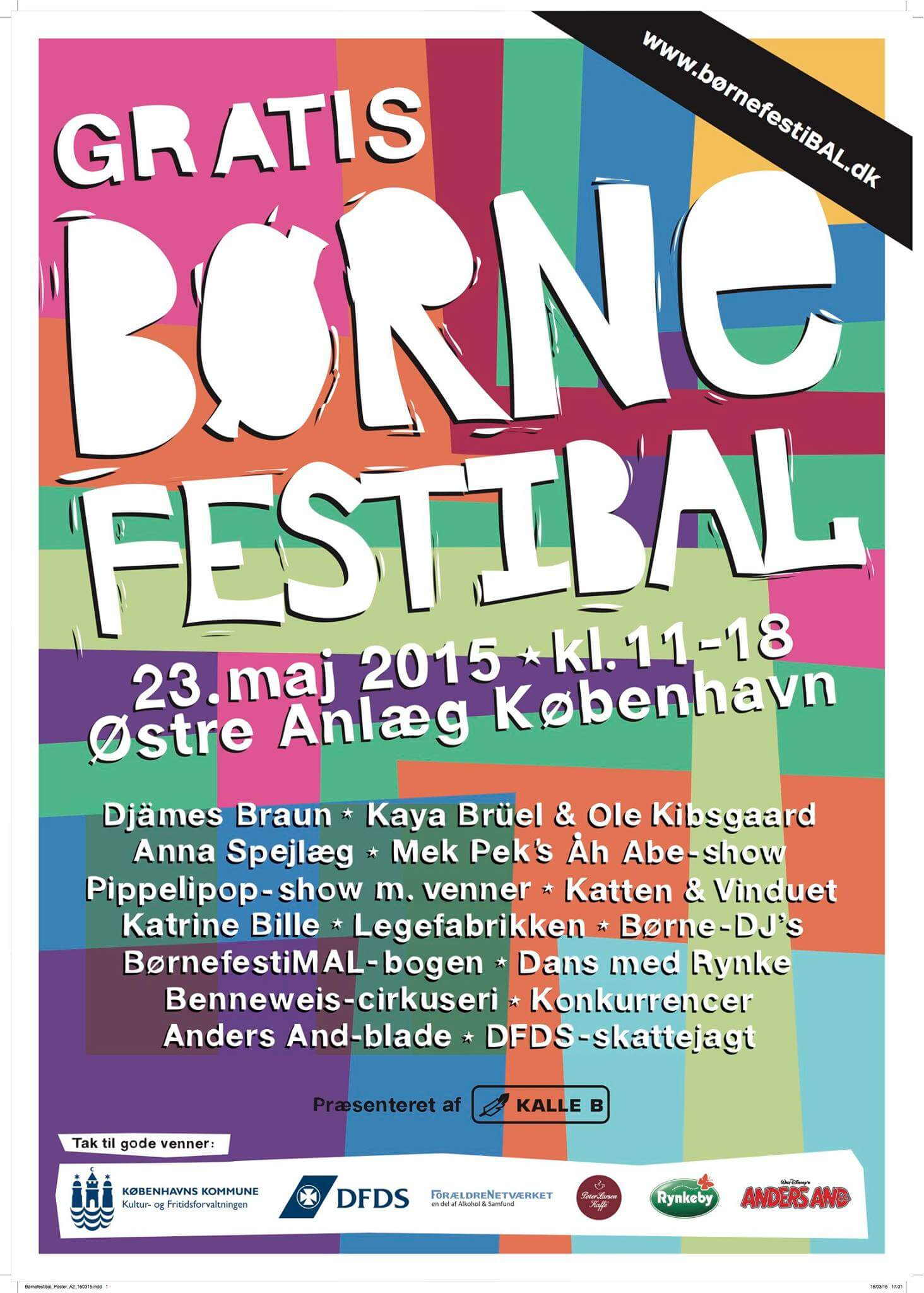 BørnefestiBAL d. 23. maj i Østre Anlæg